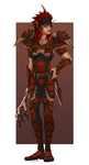 Karthuro, the Blood Elf by cyborgraptor