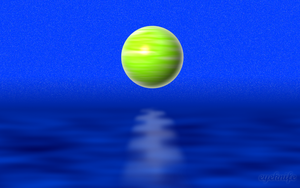 Planet on water by eyeknife
