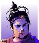 Isaac Brock - Modest Mouse by Seothen