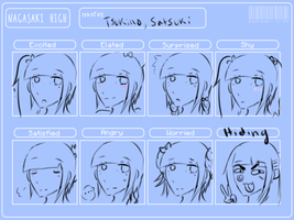 NH Satsuki expression meme by Pilehighwithcats