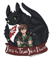 HTTYD: T-Shirt Design Contest by NightmareInspections