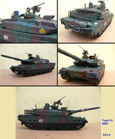 Tamiya Type10 MBT 1/35 by Tank-Dragon2014