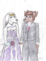 Jackson n Roses Wedding Redone by CosmicZ