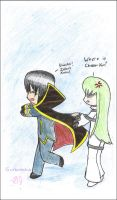 MentalGeass:Wheres Cheese-kun by sunburntclouds