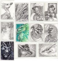 Magic: the Gathering Artist Proofs, July 2013 by caramitten