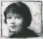 anna in charcoal by derekjones