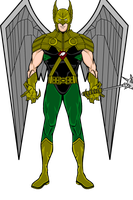Hawkman 2099 by BornAnimeFreak