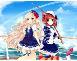 Sailors MaloBelle by LaDollBlanche