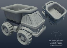 toy truck 000 by rocneasta