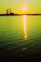 industrial sunset. by DropDeadGorJAS