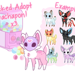 Masked Adopt Gachapon x3 [TEMPORARILY CLOSED] by moxyo