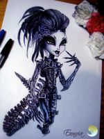 Ally MacQueen, Monster High style by Lady-Vudu-doll