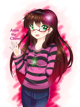Anna-The-Cherry (Gift) by 5Guardiians