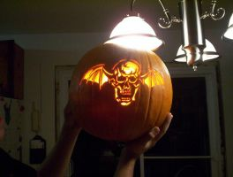 Avenged Sevenfold Pumpkin by xXavenger7Xx