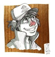 Dipper - commission by iisjah