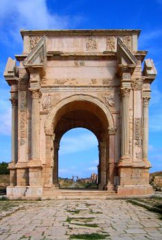 Severan Arch by Syltorian
