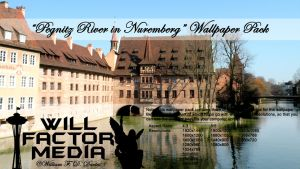 Wallpaper - Pegnitz River in Nuremberg by WillFactorMedia
