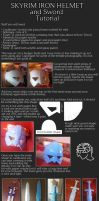 Iron Helmet and Sword cosplay tutorial by kovah