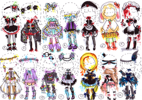SOLD- Fashion adopt mix by Guppie-Adopts