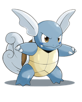 Wartortle 2 by x-Edu