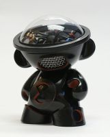 Black Widow Munny by gorgocho