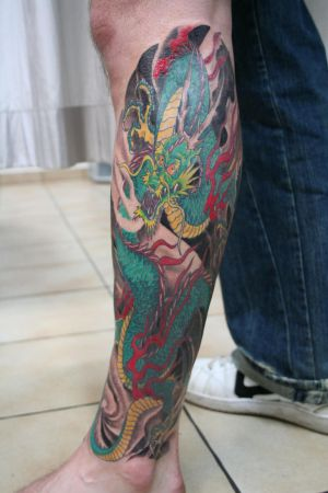 Japanese Dragon Tattoos Art Design Picture 3