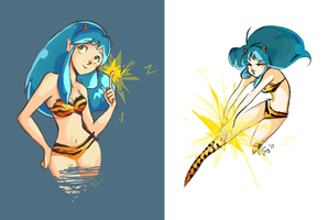 A splash of color with Lum by vanipy05