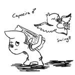 Marriland fanart: Capoeira and Swing by Cammadolph