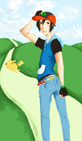 Ash Ketchum has Balls by staelus