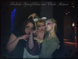 Firebirde, Spaceflikkan and Emilie Autumn by spaceflikkan