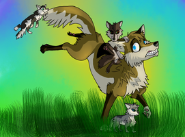 The Cubsitter by VeraWindWolf