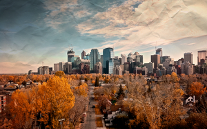 Autumn Calgary by ChanceofFlurries