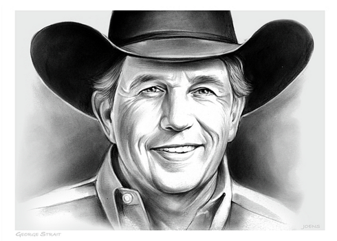 George Strait by gregchapin
