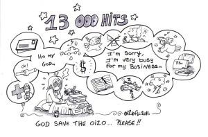 13 000 Hits by Oizofu01