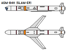 AGM-84H SLAM-ER by bagera3005
