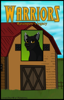 Warrior Cats: Ravenpaw's legacy - Cover by Winterstream