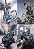 Marvel 70th Sketch Cards -e by RichardCox