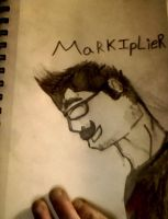 markiplier sketch by werewolfatnight