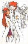 IchiHime Halloween by Puchiko-Chan