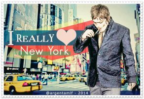 Norman Reedus - [ I REALLY Love New York ] by argentamlf