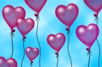 Love Ballons by mycort