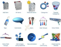 K2 for Joomla: Icon Set by Catwoman69y2k