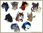 All those Headshots by WolfHearts