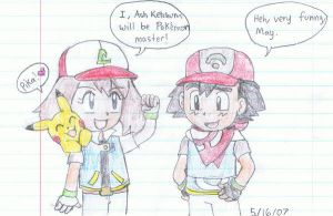 Chibi Adventures The New Ash by Advanceshipping