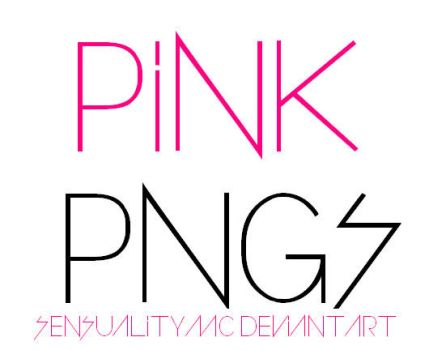 Pink PNG'S by sensualitymc