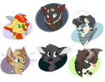 CO: Headshot Batch 1 by dallyru