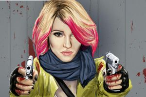 Zombie slayer Quinn by Faberry-shipper