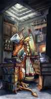 The Orange Master by Starshrouded