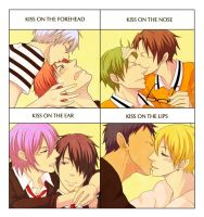 KnB Kisses by Mcgooen