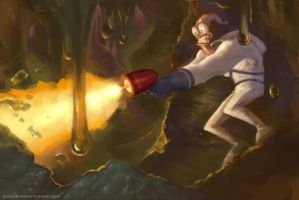 Earthworm Jim by SidharthChaturvedi